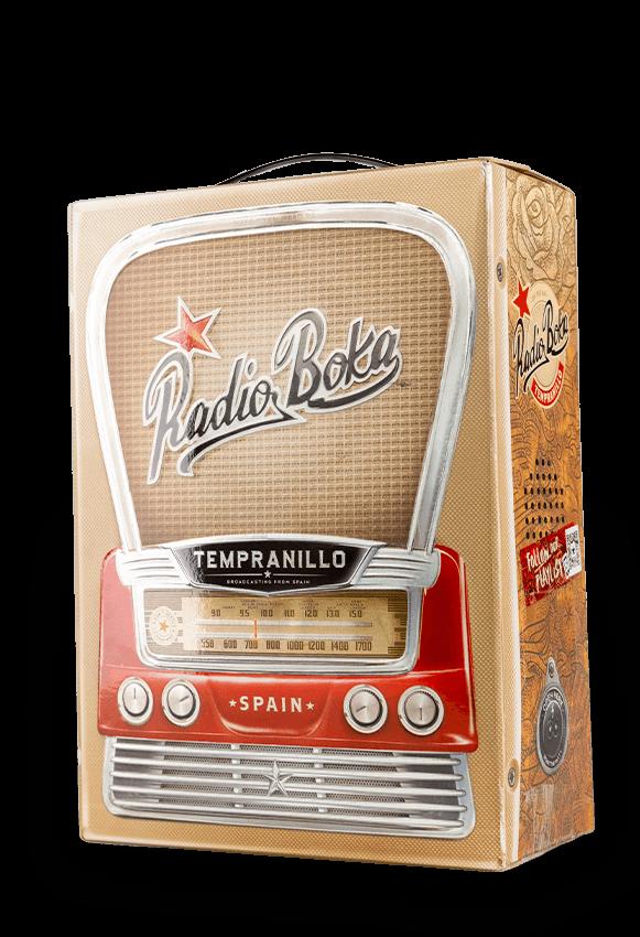 Radio Boka Tempranillo Tinto Castilla 3 Liter