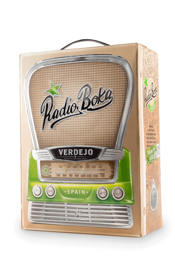 Radio Boka Verdejo Blanco 3 Liter